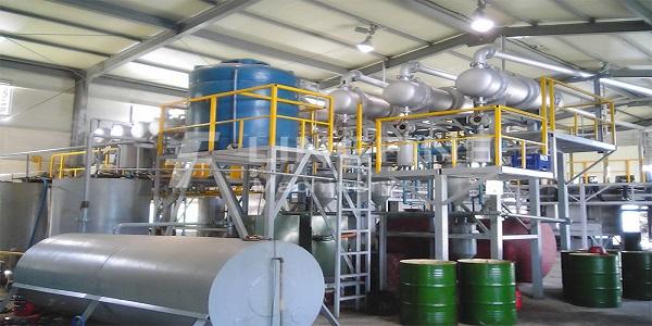 کارخانه تصفیه روغن گرمسار صادرات روغن پایه