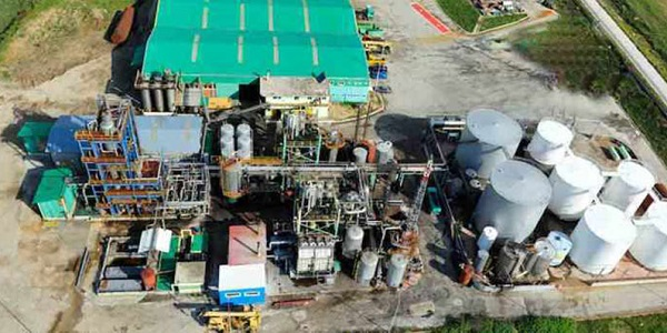 لیست کارخانه های تصفیه روغن سوخته