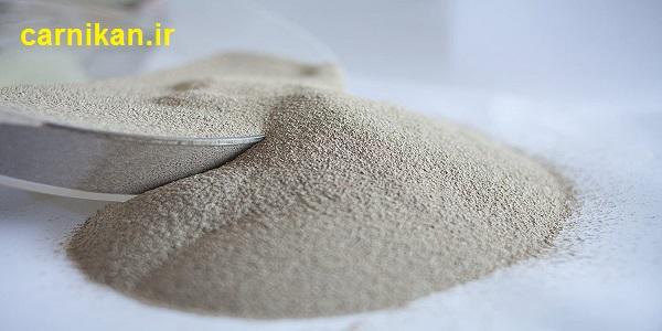 قیمت خاک رنگبر کیسه 25 کیلویی تنسیل