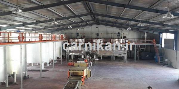 تولید کننده روغن صنعتی سرریز سفارشی