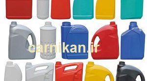 Production of plastic containers for 4 liter engine oil