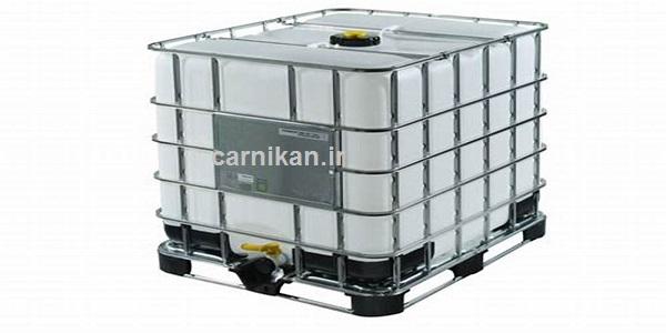 فروش مخزن 1200 لیتری صادرات روغن صنعتی و پایه