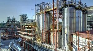 Export of base oil production plant
