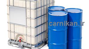 Sale of 1200 liter industrial oil export tank